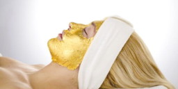 Gold face Mask treatment