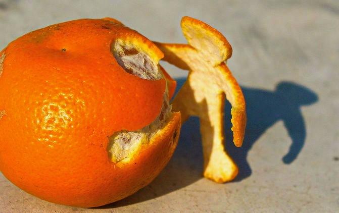 Полезные свойства кожуры мандаринов