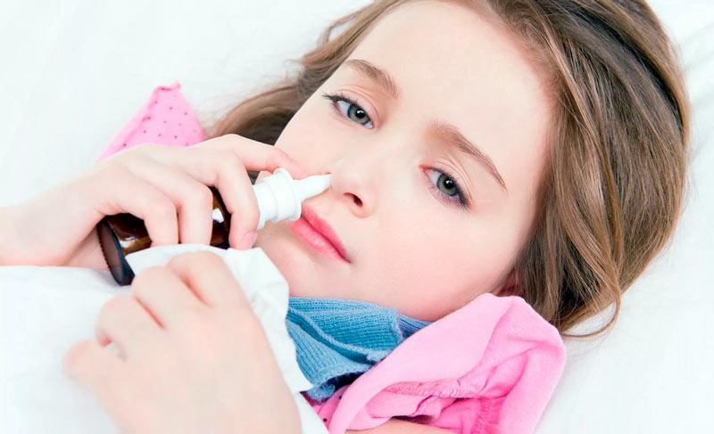 Детский синусит и хронический насморк
